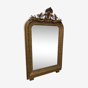 Mirror louis Philippe 19th 100x62cm