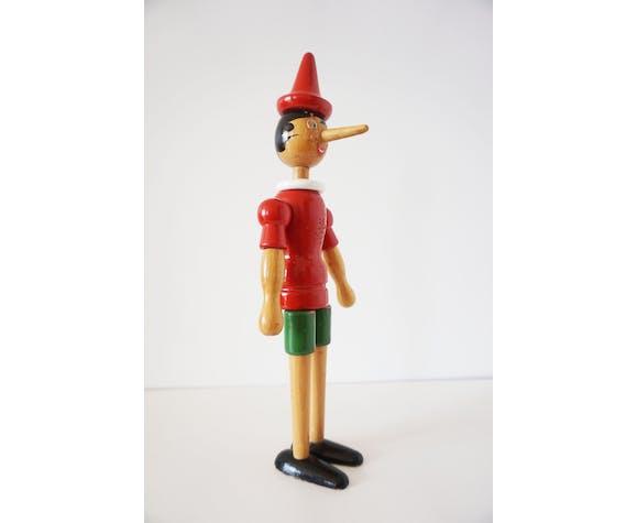 Pinocchio ancien en bois 41cm