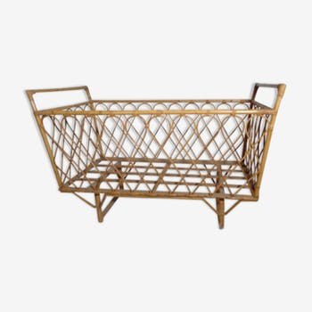 Baby rattan bed