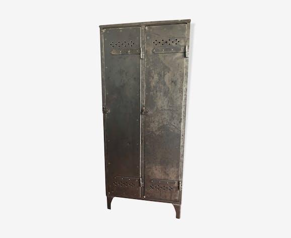Vestiaire armoire industrielle rénovée 30's