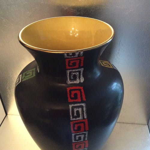Vase hohr des années 60 céramique germany