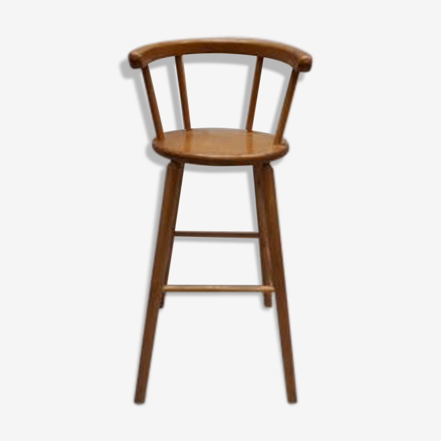 Dutch wooden high chair