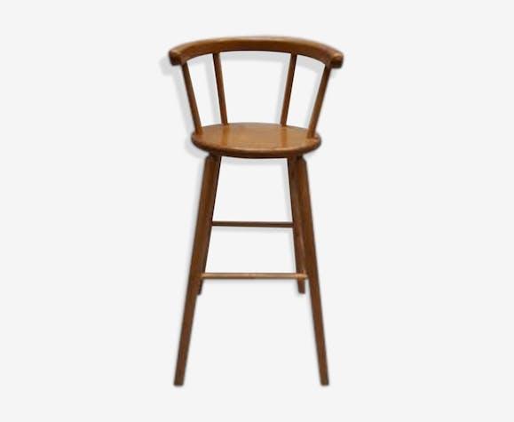 Dutch wooden high chair