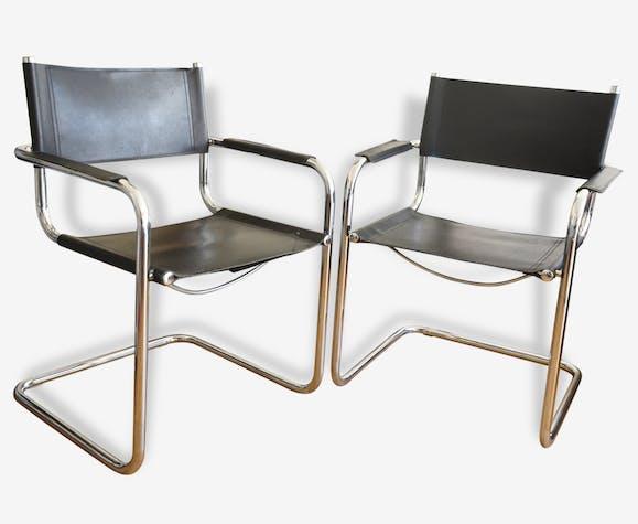 Un fauteuil B34 marcel breuer 1970 vintage bauhaus chaises