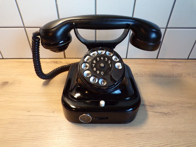 Siemens phone in Bakelite