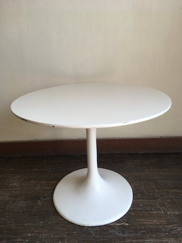 Tulip foot side table 1970