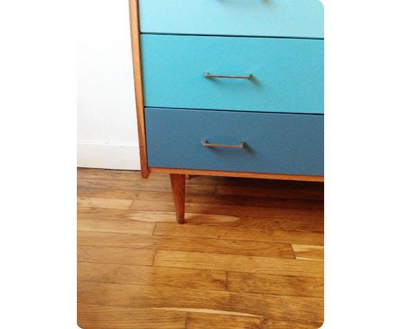 """Commode bleue """"Essaouira"""""""