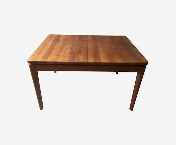 Table en teck, style scandinave années 50