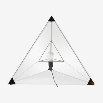 Vintage Tetrahedron table lamp by Frans van Nieuwenborg - Martijn Wegman for Indoor