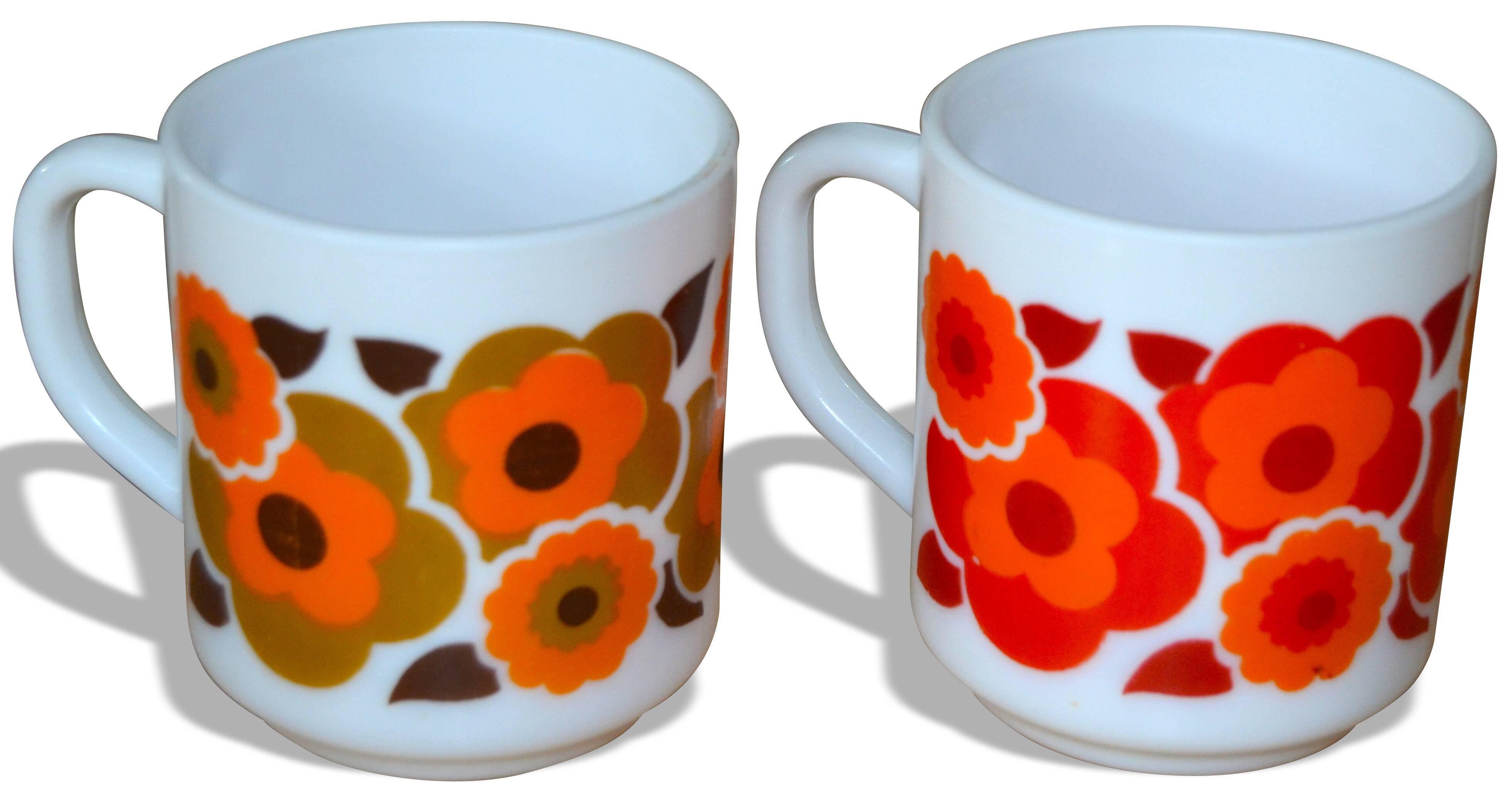 Lot de 2 mugs Arcopal Lotus