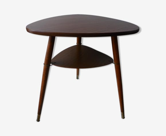 Tripod table, 1950s - bois (Matériau) - marron - scandinave - gmlKxTy
