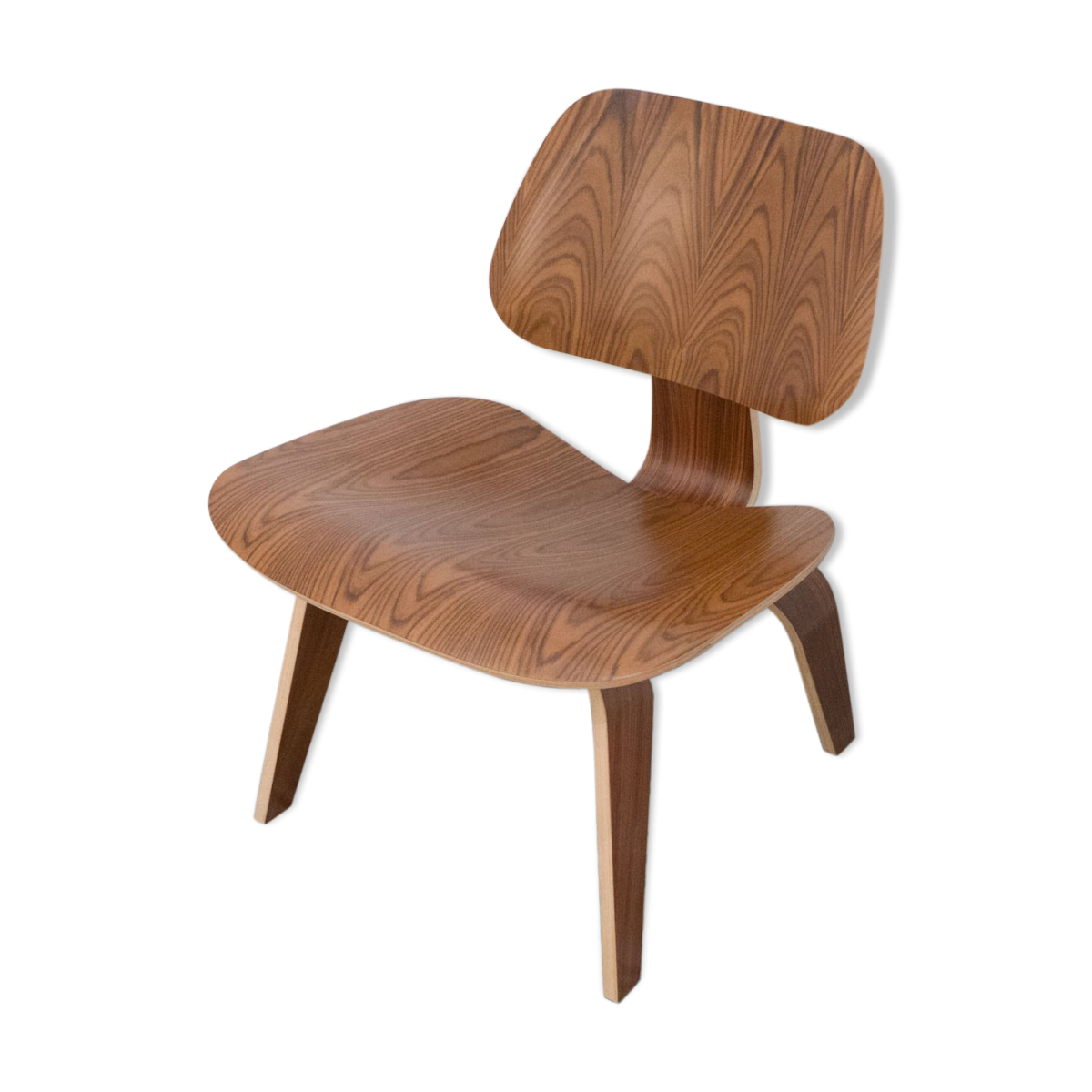 """Chaise """"LCW"""" Herman miller en palissandre, Charles Eames"""