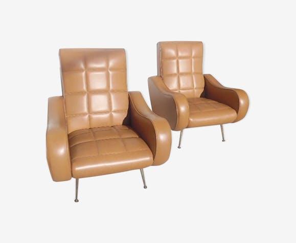 Rockabilly vintage armchairs