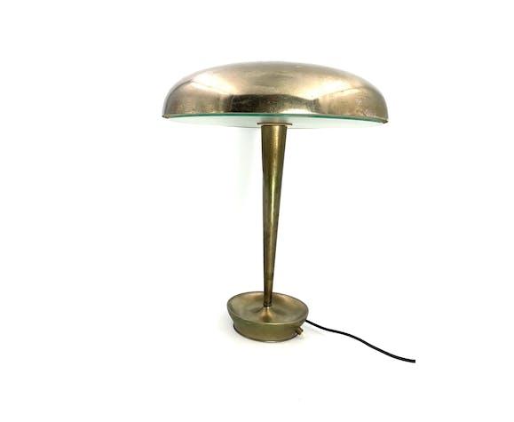 Lampe de bureau modème D 4639, Stilnovo, Milan Italie, vers les années 1950