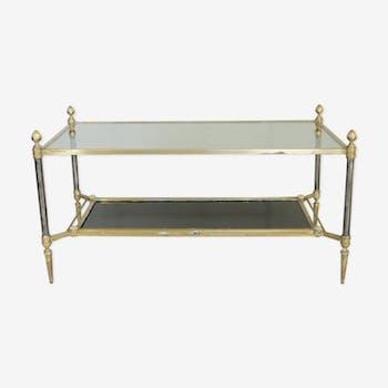 Table basse de style néo classique, années 60