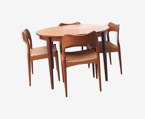 Ensemble salle à manger du designer Hovmand Olsen