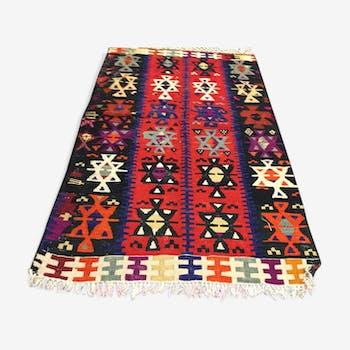 Traditional Turkish Kilim Rug 122x89cm