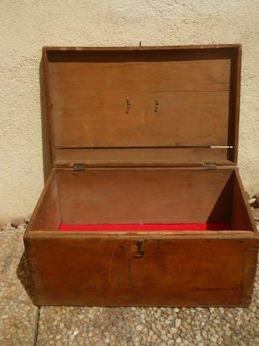 Boîte en bois, ancienne 50/60