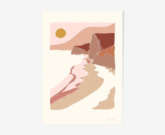 "Illustration ""Paysage n°2"""