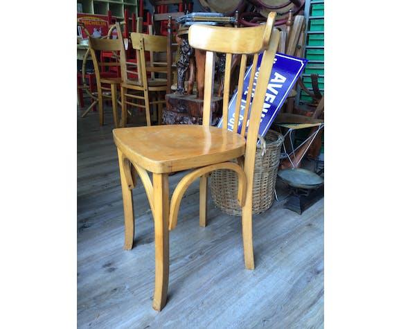 Set de 3 chaises bistrot brasserie Baumann