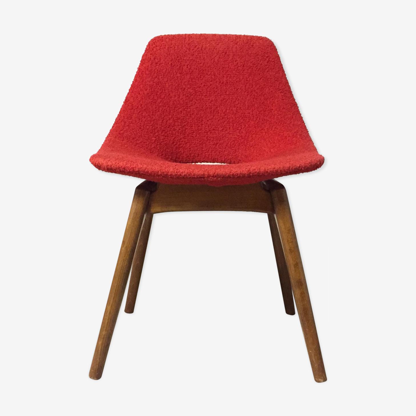 """Chair """"Tonneau"""" by Pierre Guariche 1950"""