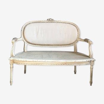 canap banquette vintage d 39 occasion et banquette vintage. Black Bedroom Furniture Sets. Home Design Ideas