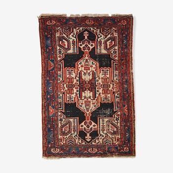 Tapis ancien Persan Hamadan fait main 120cm x 180cm 1920s