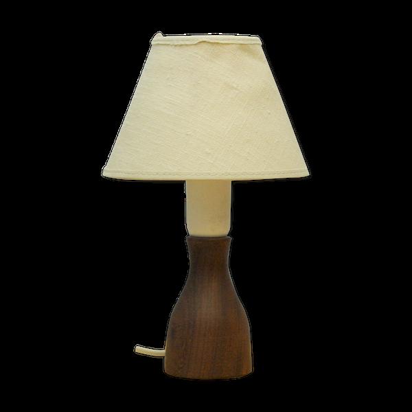 Lampe danoise en teck