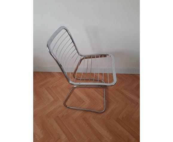 Lot de 4 chaises italiennes années 70