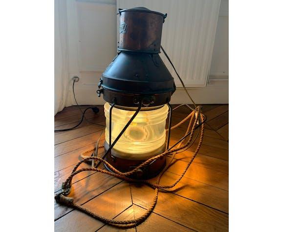 "Lampe marine ""Anchor"" en cuivre"