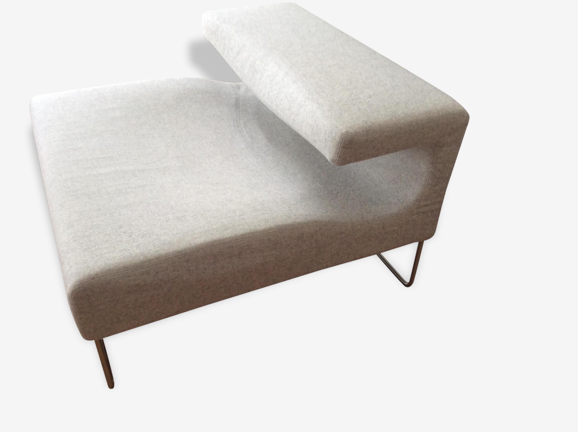 Seats En Sofas Reclame.Low Seat Moroso Fabric Grey Design 112588