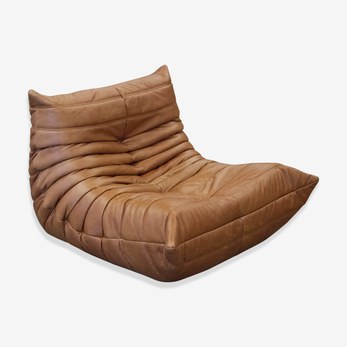 Togo Chair Leather By Michel Ducaroy For Ligne Roset Leather