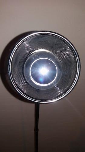 Lampadaire brillant