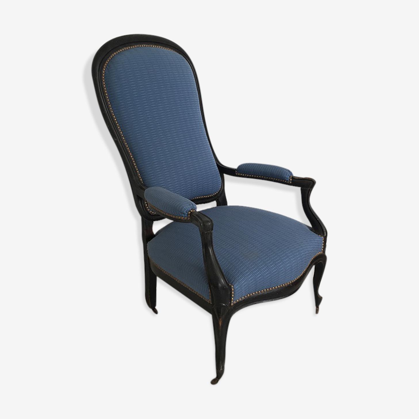 Armchair blue voltaire