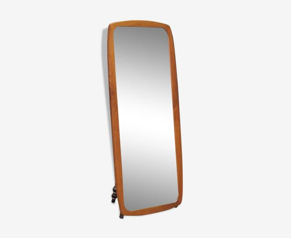 Miroir design danois 60 70, 42x95 cm