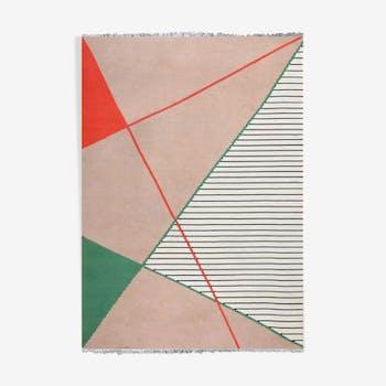 Geometric carpet by Antonin Kybal, 1950 - 300x420cm