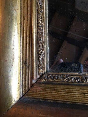 Miroir doré 19 ème 70x95cm