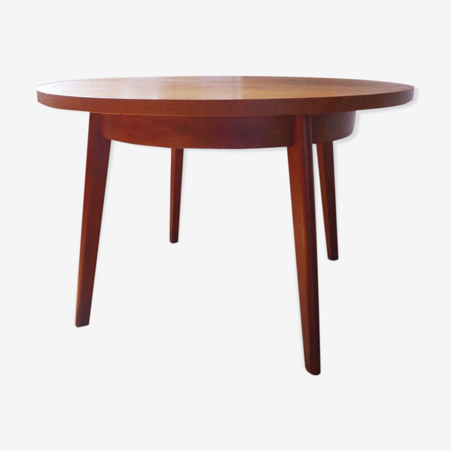 Scandinavian table with Pastoe teak extension