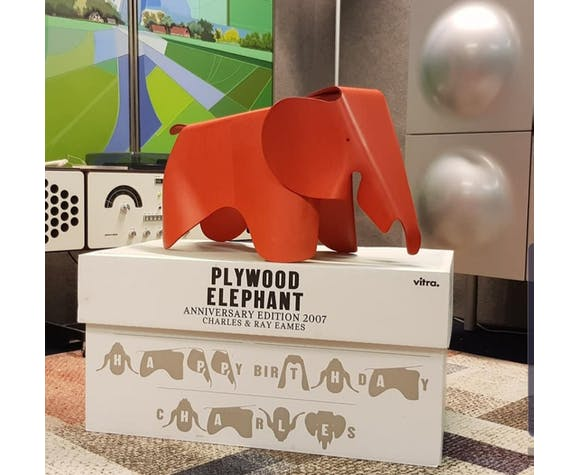 Plywood Elephant by Charles & Ray Eames
