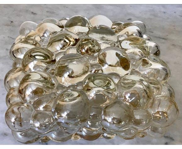 Plafonnier bubble Helena Tynell Limburg années 60