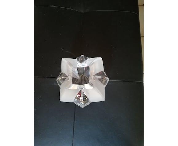 Vase en cristal de Haute Bretagne