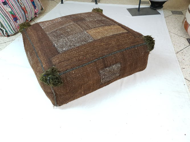 60x60 kilim vintage ground beanbag cover