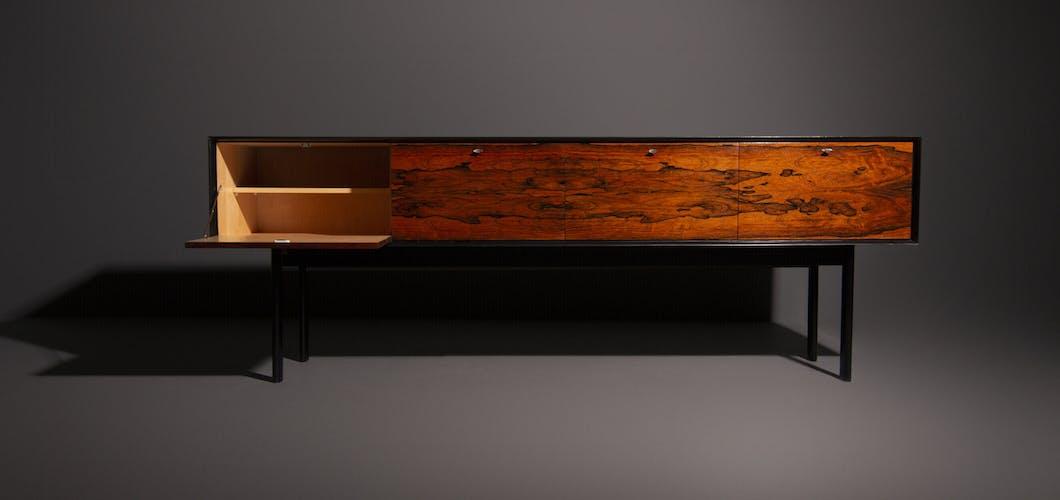 Enfilade italienne de conception fait en bois de rose