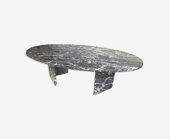 Table basse de Roche Bobois - marbre - gris - design - txGQqbG