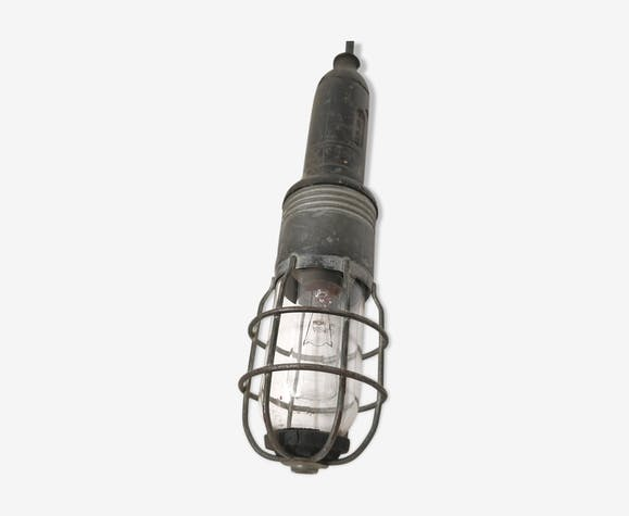 Lampe baladeuse Atrow industrielle avec globe