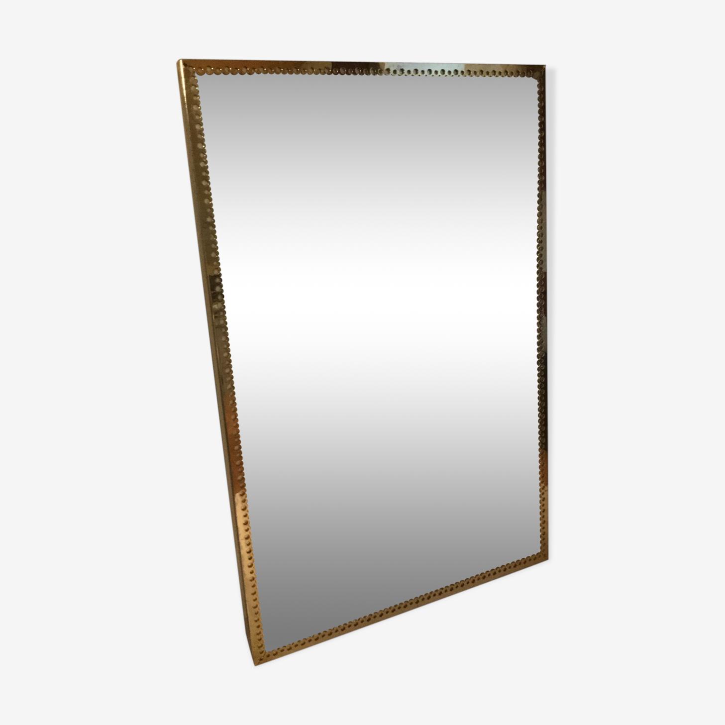 Mirror vintage brass 40 x 60