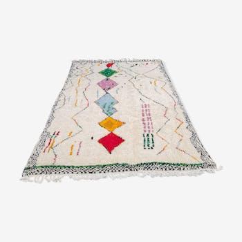Berber rug Azilal handmade wool 280x210 cm