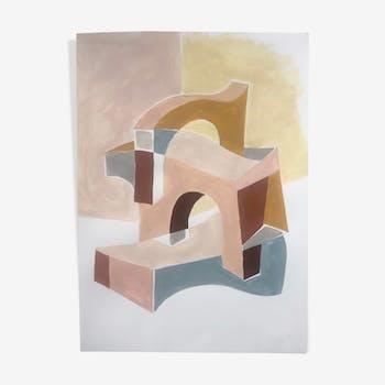 Peinture à la main Estructura