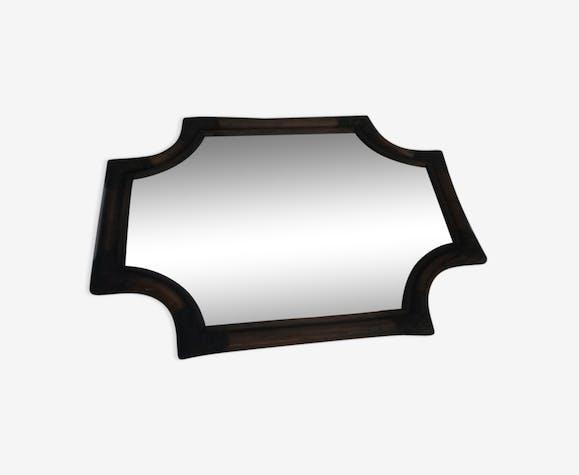 Bamboo style mirror 53x39cm