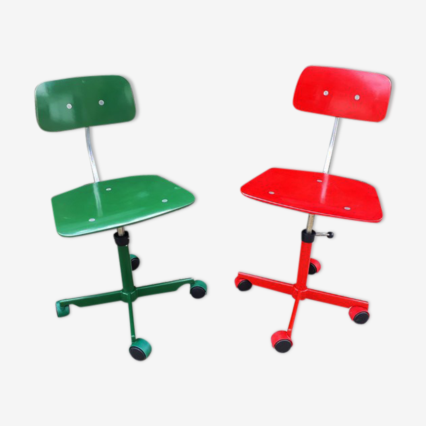 Paire de chaises de bureau enfant Kevi Jorgen Rasmussen pour Fritz Hansen